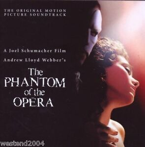 Andrew Lloyd Webber ~ Phantom Of The Opera ~ NEW CD Sealed  Original Soundtrack