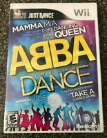 ABBA You Can Dance (Nintendo Wii) Complete w/ Manual - Tested - Free Ship