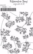 RUBBERNECKER STAMPS Rubber Cling Stamp WILDFLOWER