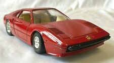 Burago 1:24 Ferrari 308 GTB Red  Metal Replica Model Car made in Italy -(EPP)