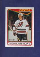 Viacheslav Fetisov RC 1990-91 O-PEE-CHEE Hockey #27