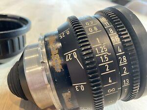 Zeiss 9.5 mm Festbrennweite PL -Mount Arri Super 16mm