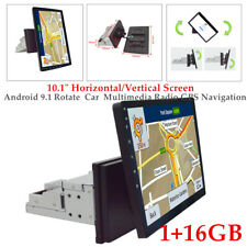"Android 9.1 10.1""Rotate Screen Car Radio WiFi GPS Navigation Horizontal/Vertical"