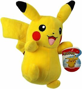 """Official Licensed Pokemon Pikachu Plush Stuffed Doll Toy Gift Kids Authentic 8"""""""