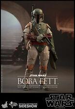 "STAR WARS: BOBA FETT 1/6 Action Figure 12"" HOT TOYS"