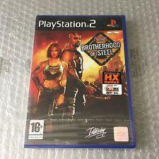 VINTAGE# PS2 PLAYSTATION FALLOUT BROTHERHOOD OF STEEL#PAL SEALED