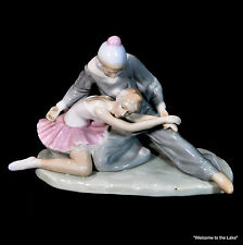 "PORCELAIN FIGURINE - ""Closing Scene"", Ballerina and Jester"