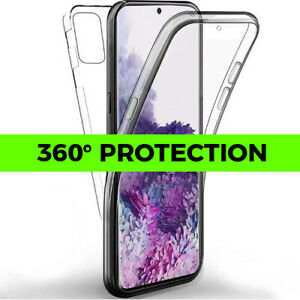 360° Shockproof Samsung S20 S10 S9 S8 Plus Ultra E Clear Silicone Phone Case