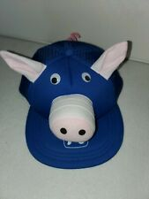PIG Novelty Trucker Hat Googly Eyes  Free Shipping
