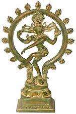 Natraja Natraj Dancing Lord Shiva Handmade Brass Statue Idol Figure