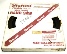 "NEW STARRETT 100 FT M42 1""X.035 10-14/S POWERBAND COIL"