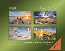 Wellness & Entspannung, Vol. 1-4 (4-CDs) [Gemafreie Entspannungsmusik, Multibox]