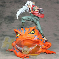 "Hot Naruto Shippuden Jiraiya Gama-Bunta 9"" PVC Figure Model New In Box"