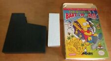 Simpsons Bart vs The World NES Box Only - Authentic,Original - No Game or Manual