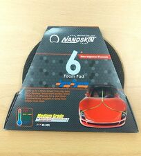 "Nanoskin Car Care AS-003 6"" Medium Yellow Autoscrub Foam Clay Pad FAST SHIPPING"