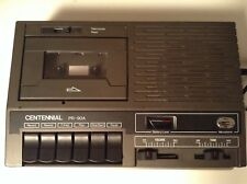 Centennial PR-90A Portable Cassette Recorder