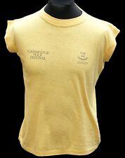 Cambridge Folk Festival Vintage Shirt Crew Only circa 1980s
