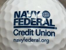 (1) NAVY FEDERAL CREDIT UNION LOGO GOLF BALL