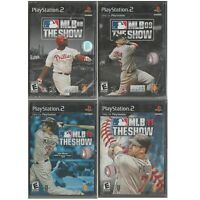 (4 Lot) Sony PlayStation PS2 Black Label MLB 08 09 10 11 THE SHOW New~Sealed