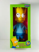 1990 Vintage Bart Simpson Dan Dee Toy Rag Doll w/ Original box NICE see pics