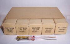 SLEEVE OF 5 JAN RAYTHEON 5829WA SUB MINIATURE TUBES / VALVES - 5829