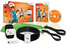 EA Sports Active 2 PERSONAL TRAINER FOR Wii / ENHANCE WORKOUT / HEART MONITOR