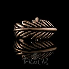 Rose Gold Stainless Steel Feather Nose Stud, Nose Pin, L-shape Stud (Code 2)