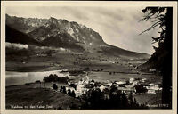 Walchsee Österreich Tirol Kufstein ~1930 Wilder Kaiser Kaiserwinkl Panorama Dorf