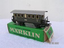 MÄRKLIN HO 1/87 3 rails  -  VOITURE 2è cl A PLATEFORMES ref 4040