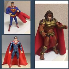 Custom Motu Classic Dc Collectibles Red Cloth Cape ONLY Marvel Legends Superman
