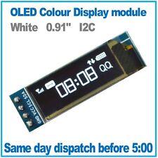 "OLED Display White 128X32 0.91"" I2C SSD1306 Arduino, ESP8266, MicroPython"