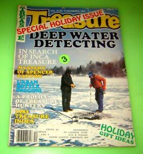 TREASURE SEARCH Magazine December 1984 Metal Detectors Gold