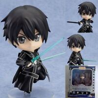 "Sword Art Online Kirito Asuna SAO GGO  4"" Action Figure PVC Toy New in box"