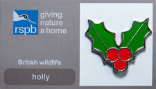 RSPB Pin Badge   Holly   GNaH [00280]