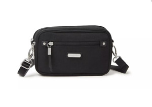 Baggallini Black Classic RFID Festival Handbag 52504