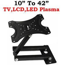 TILT SWIVEL TV WALL BRACKET MOUNT FOR 10 15 20 23 25 30 32 36 40 42 3D LCD LED