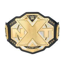 WWE NXT CHAMPIONSHIP REPLICA TITLE BELT 2017 OFFICIAL NEW