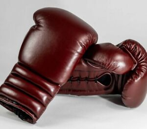 Custom Made Cowhide Leather Boxing Gloves  Any Logo or Name No winning No Grant