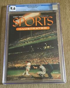 1954 Sports Illustrated Magazine 1st Edition CGC 9.6 MINT with cards