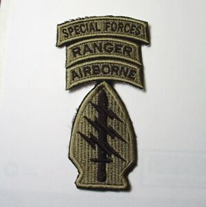 US Army Special Forces Shoulder Sleeve Patch  Afghanistan Afghan Patch (mont)f