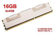 4x 4GB (16GB) HYNIX HYMP151F72CP4N3-Y5-AC-C DDR2-667 PC2-5300F 2Rx4 ECC  #710383