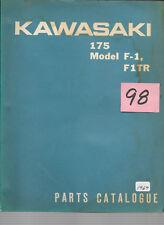 Kawasaki 1969 175 F1 / F1-TR  Parts Catalogue   #98