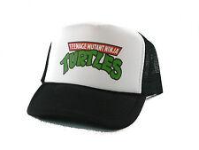 Vintage Teenage Mutant Ninja Turtles Trucker Hat mesh hat snapback hat black