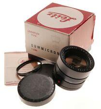 11219 Summicron-R 1:2/90 Leitz Canada f=90mm fit Slr 35mm Film camera Leicaflex