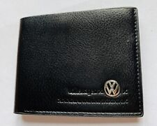 New Volkswagen Men's Leather Wallet Perfect Gift Idea UK  Seller 🇬🇧