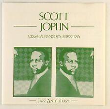 CD - Scott Joplin - Original Piano Rolls 1899 - 1916 - A4807 - RAR