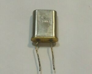 HC-18/U Radio Crystal - 17.27638 MHz - Motorola - Wire Leads