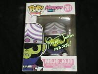 ROGER JACKSON Signed MOJO JOJO Funko Pop The Powerpuff Girls Autograph VAULTED