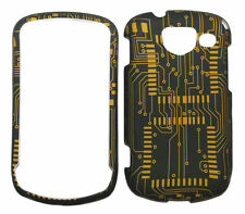 Circuit Board Design Rubberized Case for Samsung Brightside U380