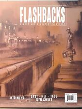 Flashbacks Graffiti Art Magazine Issue #12 CMP Cover NYC trains walls street art